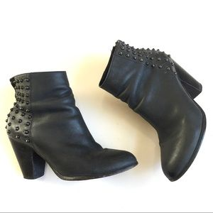Steve Madden Booties with Spike Embellishments